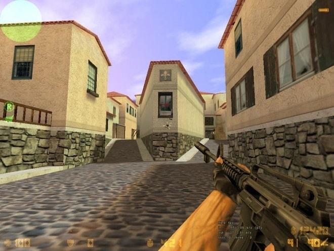 Gốc phố quen thuộc trong Counter-Strike