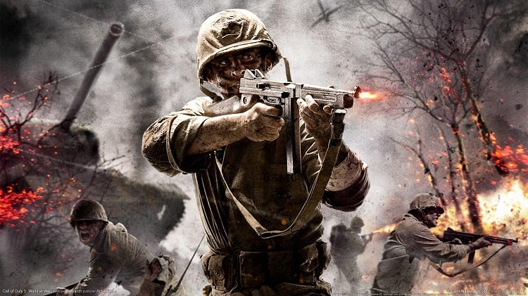 Call of Duty: World at War tuy cũ nhưng đáng để chơi đấy anh em